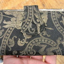 Antique Handstitched Ladies Purse Knight and Griffin Photo