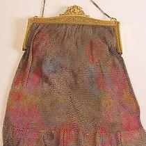 Antique Metal Mesh Bag by Whiting and Davis Co. Photo