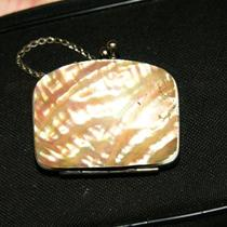 Antique Mother of Pearl Coin  Purse  Photo