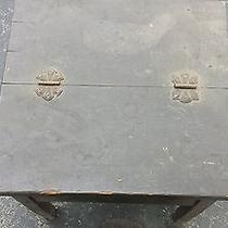 Antique Shoe Shine or Cobblers Bench- Includes Iron Shoe Mount as Well-  Photo