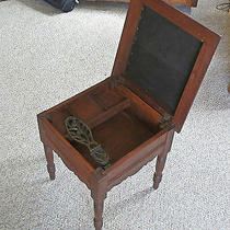 Antique Shoe Shine Stool Photo