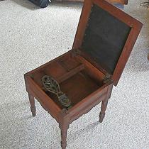 Antique Shoe Shine Stool Photo