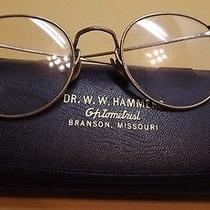 Antique/vintage Ao American Optical Fulvue Gold Filled Reading Glasses Bi-Focal  Photo