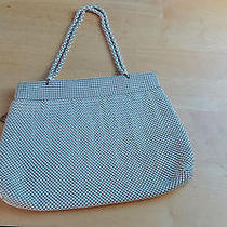 Antique Vintage Mesh Purse Whiting and Davis Ivory Photo