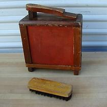 Antique Vintage Shine Shoe Shine Kit Box  Photo