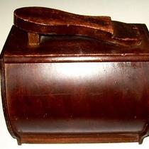 Antique Vintage Shoe Shine Box Vintage Wood Shine Box Barrel Photo