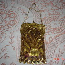 Antique Vintage Whiting & Davis Mesh Purse Handbag  Photo