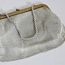Antique Whiting and Davis Depression Wwii Mesh Evening Clutch Gorgeous Photo
