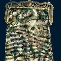 Antique Whiting and Davis Mesh Bag  Photo