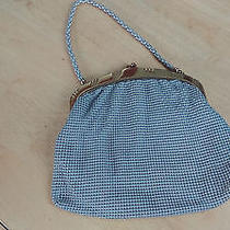 Antique Whiting and Davis Mesh Purse Vintage Photo