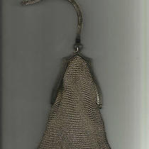 Antique Whiting and Davis Silver Mesh Purse Photo