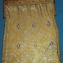 Antique Whiting & Davis Art Deco Purse 1920s-1930s Evening Bag Photo