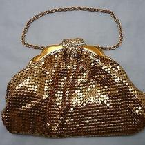 Antique Whiting & Davis Gold Mesh Evening Purse Photo
