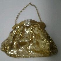 Antique Whiting & Davis Gold Mesh Metal Purse Photo