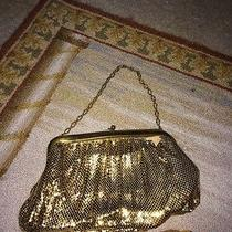 Antique Whiting & Davis Gold Mesh Purse Photo