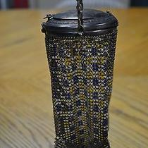 Antique Whiting & Davis Mesh Purse With Conpact Photo