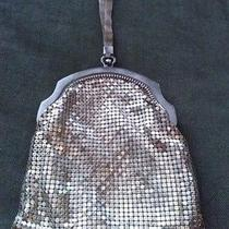 Antique Whiting & Davis Silver Mesh Evening Bag  1920s Photo