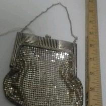 Antique Whiting & Davis Silver Mesh Metal Purse Photo