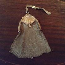 Antique Whiting Davis Silver Mesh