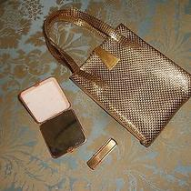 Antique Whitting & Davis Clutch Compact Lipstick Handbag Stunningli Photo
