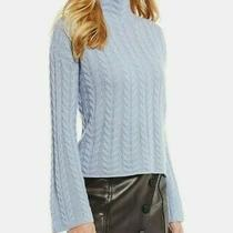 Antonio Melani Luxury Collection Chloe Cashmere Sweater L French Blue Large Nwt  Photo