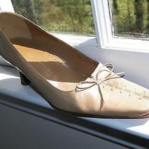 Antonio Melini Classic Beige Sexy Business Women's Shoes Heels Size 5.5 Photo