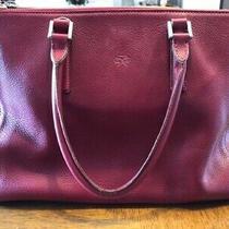 Anya Hindmarch Medium Soft Red Leather Ebury Tote Bag Hand Bag Japan Seller Photo