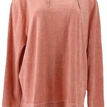 Anybody Loungewear Baby Terry Hooded Sweatshirt Dark Blush Xxs New A310048 Photo