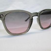 Ao Safety Glasses American Optical Gray Frame Gray Rose Lens Grunge Hipster 48  Photo