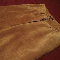 Apart Leather Pants German Leder Sz 4 Women's Jeans Beige Fendiburberrychanel Photo