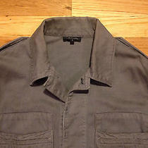Apc a.p.c. Mens Gray Chore Barn Jacket Coat Size 2 Medium 515 Made in France Photo