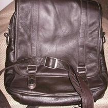 Apc American Leather Dark Brown Backpack Cross  Sling Bag Briefcase Style/unisex Photo