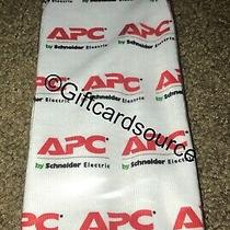 Apc (American Powder Conversion) Socks White & Red 1 Pair Collectible Photo