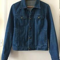 Apc Blue Denim Jacket Size Xs / 34 - Rrp 245 Photo
