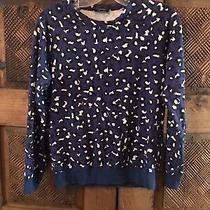 Apc Blue Leopard Sz Xs Sweatshirt Top Photo
