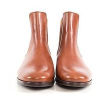 Apc Brown Leather Boots Photo