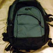 Apc Computer Backback Nylon Teal  Photo