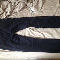 Apc Dark Navy Cotton Pants Photo