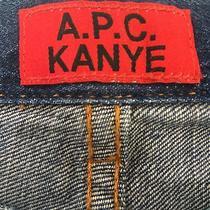 Apc Kanye Second Collection Stonewash Denim Photo