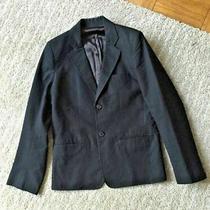Apc Mens Blazer Jacket Black Cotton Medium (Fits Small Slim) a.p.c. Photo