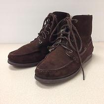 Apc Moccasin Fur Boots Suede Boat Shoes Gum Sole Leather a.p.c. Size 9 Photo