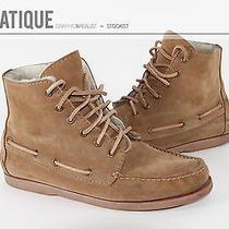 Apc Moccasin Fur Boots Suede Boat Shoes Gum Sole Leather a.p.c. Size 9.5 Photo