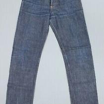 Apc New Standard Dark Button Fly Denim Jeans Women's W 26 L 30 Photo