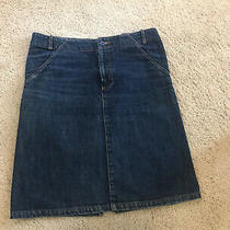 Apc Paris From Net-a-Porter Denim Skirt Size 40 Uk10 Photo
