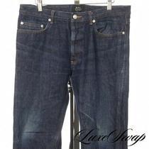 Apc Paris New Standard Jean Classique Indigo Redline Selvedge Denim Jeans 34 Nr Photo