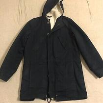 Apc Parka Fishtail Dark Navy Jacket  Photo