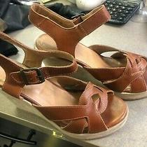 Apc Rue Madame Paris Tan Brown Leather Wedges  Photo