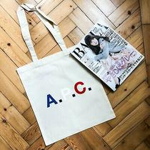 Apc X Baila Magazine Canvas Tote Bag in Supreme Condition Photo