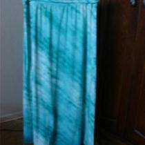 Appropriate Behavior Aqua Tie Dye Knit Skirt or Dress   Sz 2x Photo