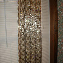 Apt 9 Holiday Shine Women's Gold Sequel Scarf Wrap--Holiday Table Runner Photo
